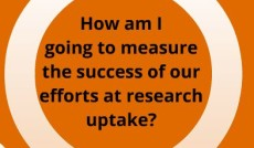 m&e dashboard for research uptake